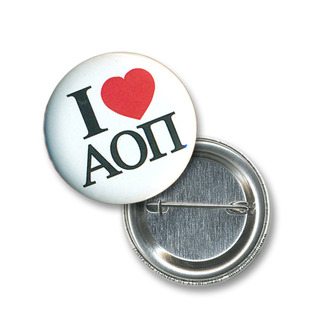 Alpha Omicron Pi Buttons, Pins & Magnets - Greek Clothing - Greek Gear