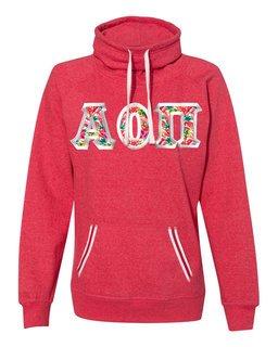 Alpha Omicron Pi J. America Relay Cowlneck Sweatshirt