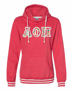 Alpha Omicron Pi J. America Relay Hooded Sweatshirt