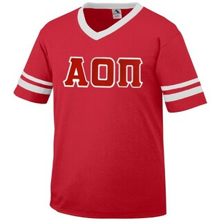 Alpha Omicron Pi Jersey With Custom Sleeves
