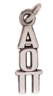 Alpha Omicron Pi Jewelry Lavalieres