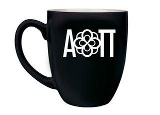 Alpha Omicron Pi Logo Bistro Mug
