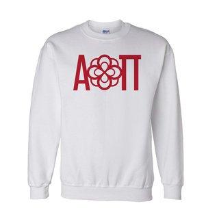 Alpha Omicron Pi Logo Crewneck Sweatshirt