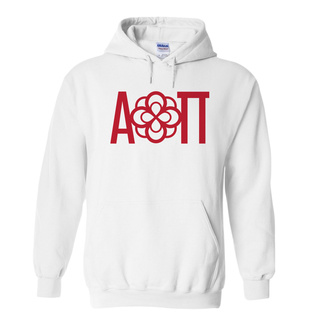 Alpha Omicron Pi Logo Hooded Sweatshirt