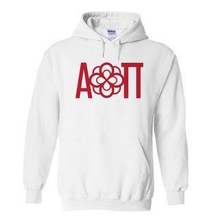 Alpha Omicron Pi Logo Hooded Sweatshirt