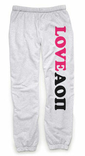 Alpha Omicron Pi Love Sweatpants