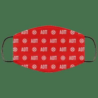 Alpha Omicron Pi Mascot Face Mask
