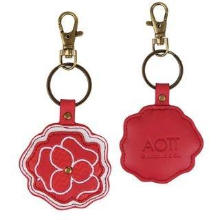 Alpha Omicron Pi Mascot Keychain