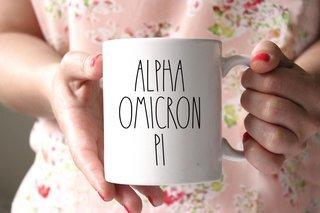 Alpha Omicron Pi MOD Coffee Mug