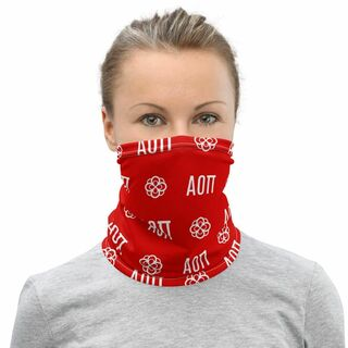 Alpha Omicron Pi Neck Gaiters