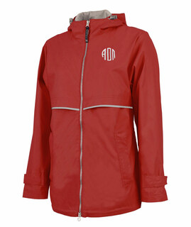 Alpha Omicron Pi New Englander Circle Monogram Rain Coat