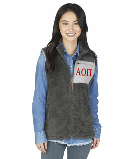 Alpha Omicron Pi Newport Fleece Vest