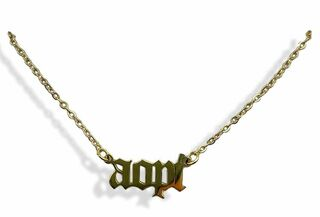 Alpha Omicron Pi Old English Necklaces
