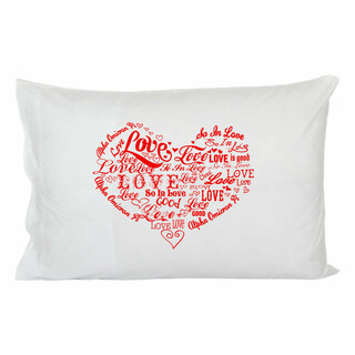 "Alpha Omicron Pi ""So In Love"" Pillowcase"