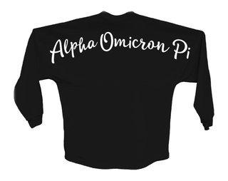 Alpha Omicron Pi Script Jersey