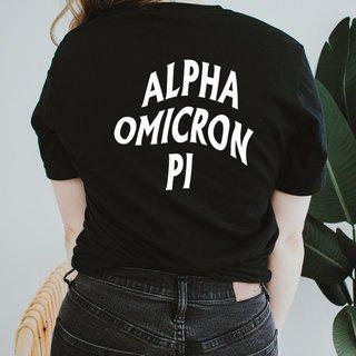 Alpha Omicron Pi Social Tee