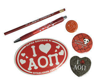 Alpha Omicron Pi Sorority Large Pack $15.00