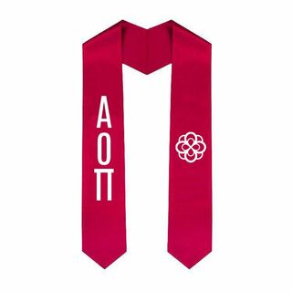 Alpha Omicron Pi World Famous EZ Stole - Only $29.99!