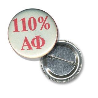 Alpha Phi 110% Sorority Buttons