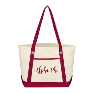 Alpha Phi Melody Tote Bag