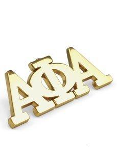 Alpha Phi Alpha 14K Plated Lapel Pin