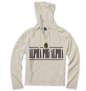 Alpha Phi Alpha 2020 Crest Lucas Loop Fleece Hood