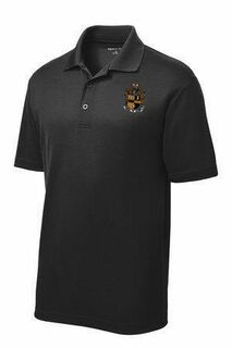 DISCOUNT-Alpha Phi Alpha- World Famous Greek Crest - Shield Contender Polo