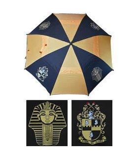 """Alpha Phi Alpha 30"""" Wind Resistant Auto Open Umbrella"""