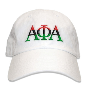 Alpha Phi Alpha African American Flag Greek Letter Hat