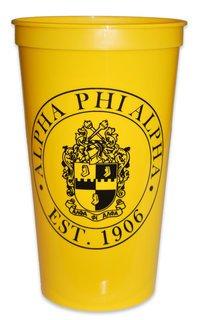 Alpha Phi Alpha Big Plastic Stadium Cup