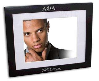 Alpha Phi Alpha Black Wood Picture Frame