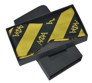 Alpha Phi Alpha Bow Tie W/ Matching Handkerchief