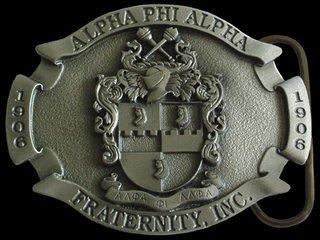 Alpha Phi Alpha Buckle