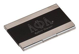 Alpha Phi Alpha Business Card Holder