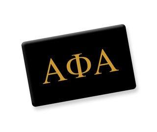 Alpha Phi Alpha Ceramic Flag Magnet