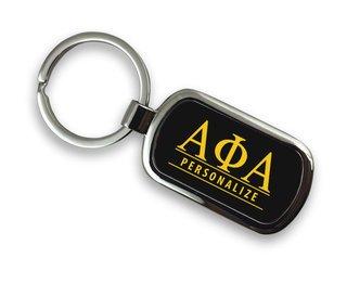 Alpha Phi Alpha Chrome Custom Keychain