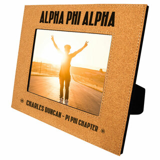 Alpha Phi Alpha Cork Photo Frame