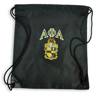 Alpha Phi Alpha Crest - Shield Cinch Sack