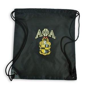 Alpha Phi Alpha Crest - Shield Cinch Sack