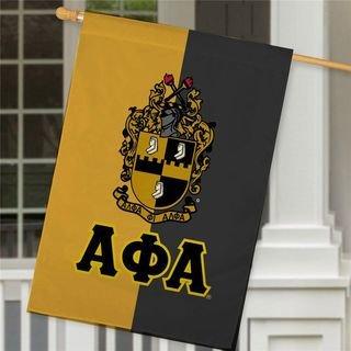 Alpha Phi Alpha Crest House Flag