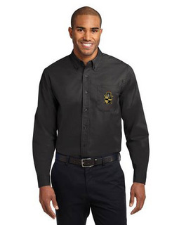 Alpha Phi Alpha Crest Long Sleeve Oxford