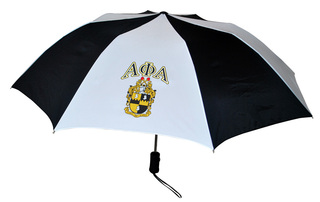 Alpha Phi Alpha Crest - Shield Umbrella