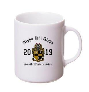Alpha Phi Alpha Crest & Year Ceramic Mug