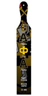 Alpha Phi Alpha Custom Full Color Paddle