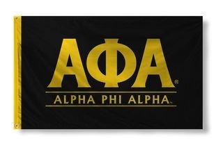 Alpha Phi Alpha Custom Line Flag