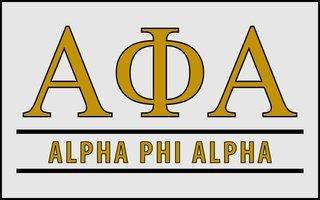 Alpha Phi Alpha Custom Line Sticker Decal