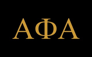 Alpha Phi Alpha Flag Decal Sticker