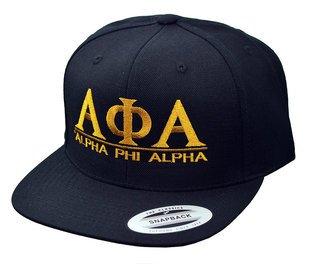 Alpha Phi Alpha Flatbill Snapback Hats Original
