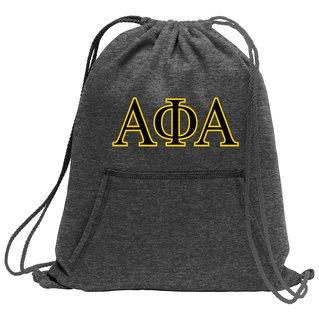 Alpha Phi Alpha Fleece Sweatshirt Cinch Pack