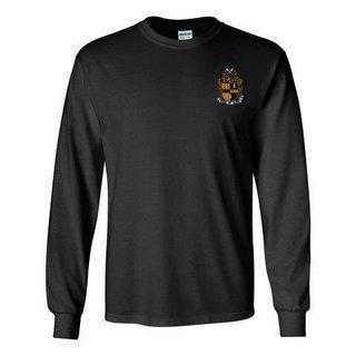 DISCOUNT-Alpha Phi Alpha Fraternity Crest - Shield Longsleeve Tee